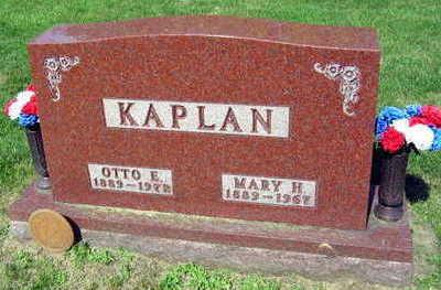 KAPLAN, OTTO E. - Linn County, Iowa   OTTO E. KAPLAN