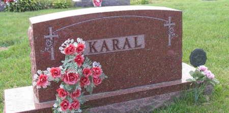 KARAL, FAMILY STONE - Linn County, Iowa   FAMILY STONE KARAL