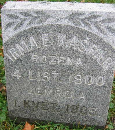 KASPAR, IRMA E. - Linn County, Iowa | IRMA E. KASPAR
