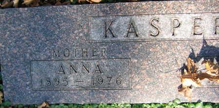 KASPER, ANNA - Linn County, Iowa | ANNA KASPER
