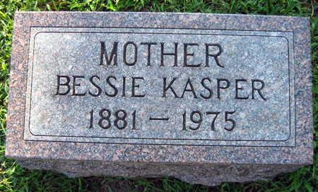 KASPER, BESSIE - Linn County, Iowa   BESSIE KASPER