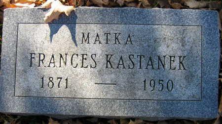KASTANEK, FRANCES - Linn County, Iowa | FRANCES KASTANEK