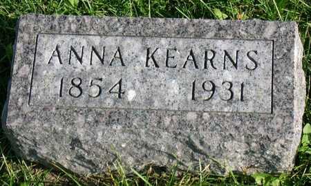 KEARNS, ANNA - Linn County, Iowa | ANNA KEARNS