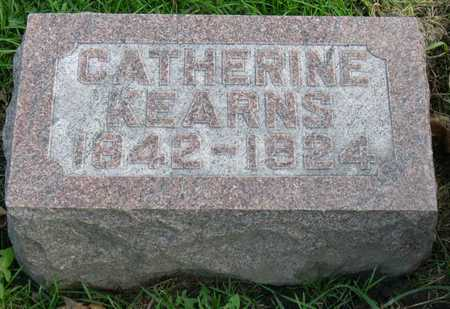 KEARNS, CATHERINE - Linn County, Iowa   CATHERINE KEARNS