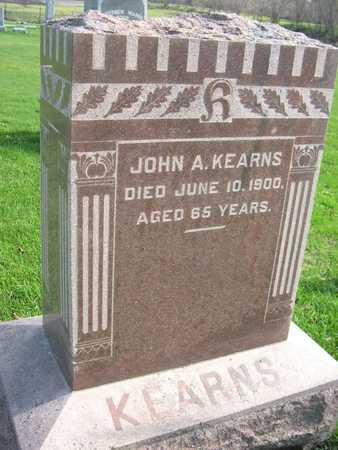 KEARNS, JOHN A. - Linn County, Iowa | JOHN A. KEARNS