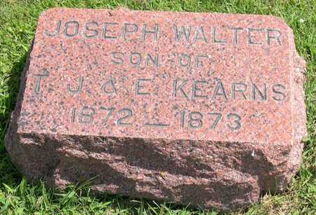 KEARNS, JOSEPH WALTER - Linn County, Iowa   JOSEPH WALTER KEARNS