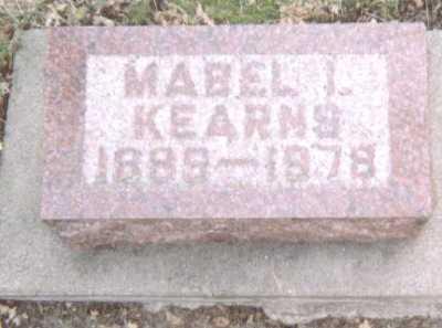 KEARNS, MABEL I. - Linn County, Iowa | MABEL I. KEARNS