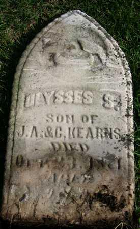 KEARNS, ULYSSES S. - Linn County, Iowa | ULYSSES S. KEARNS