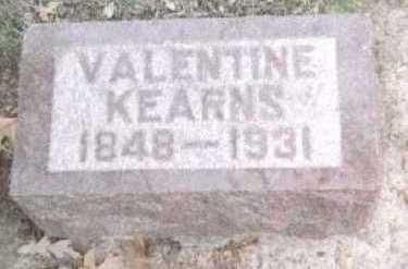 KEARNS, VALENTINE - Linn County, Iowa   VALENTINE KEARNS