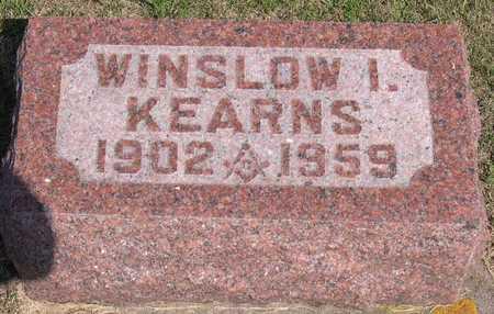 KEARNS, WINSLOW I. - Linn County, Iowa | WINSLOW I. KEARNS