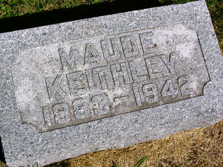 KEITHLEY, MAUDE - Linn County, Iowa | MAUDE KEITHLEY