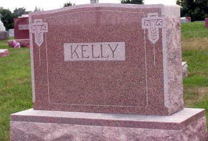 KELLY, FAMILY STONE - Linn County, Iowa | FAMILY STONE KELLY