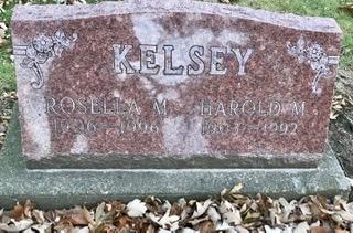 KELSEY, ROSELLA M. - Linn County, Iowa | ROSELLA M. KELSEY