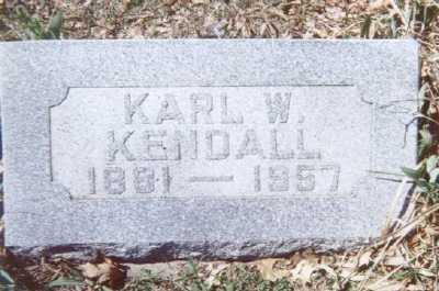 KENDALL, KARL W. - Linn County, Iowa   KARL W. KENDALL
