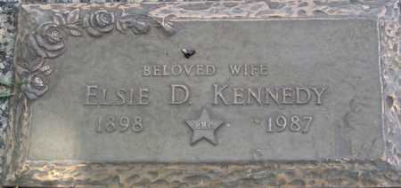 KENNEDY, ELSIE D - Linn County, Iowa | ELSIE D KENNEDY