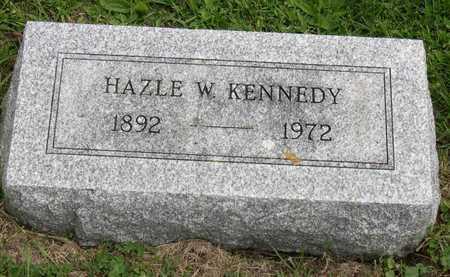 KENNEDY, HAZLE W. - Linn County, Iowa | HAZLE W. KENNEDY