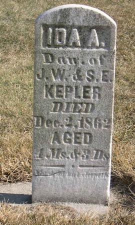 KEPLER, IDA A. - Linn County, Iowa | IDA A. KEPLER
