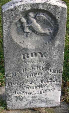 KEPLER, ROY - Linn County, Iowa | ROY KEPLER