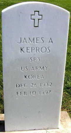 KEPROS, JAMES A. - Linn County, Iowa | JAMES A. KEPROS