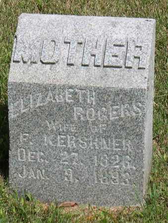 ROGERS KERSHNER, ELIZABETH - Linn County, Iowa | ELIZABETH ROGERS KERSHNER