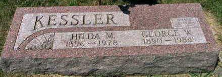 KESSLER, GEORGE W. - Linn County, Iowa | GEORGE W. KESSLER