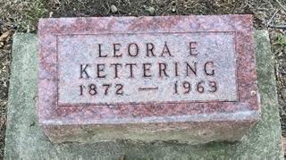 KETTERING, LEORA E. - Linn County, Iowa | LEORA E. KETTERING