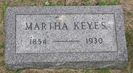 KEYES, MARTHA - Linn County, Iowa | MARTHA KEYES