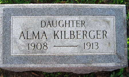 KILBERGER, ALMA - Linn County, Iowa   ALMA KILBERGER