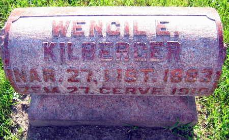 KILBERGER, WENCIL E. - Linn County, Iowa   WENCIL E. KILBERGER