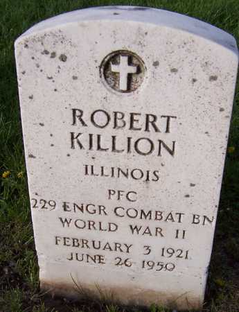 KILLION, ROBERT - Linn County, Iowa | ROBERT KILLION