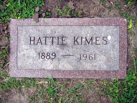 KIMES, HATTIE - Linn County, Iowa | HATTIE KIMES