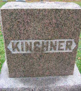 KINCHNER, FAMILY STONE - Linn County, Iowa | FAMILY STONE KINCHNER