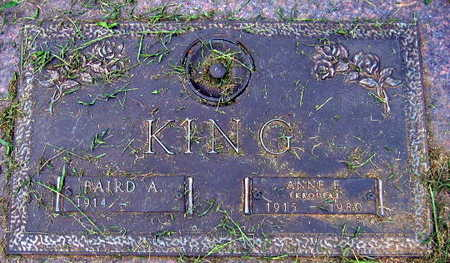 KROUPAJ KING, ANNA E. - Linn County, Iowa | ANNA E. KROUPAJ KING
