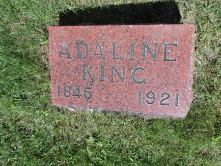 KING, ADALINE - Linn County, Iowa | ADALINE KING