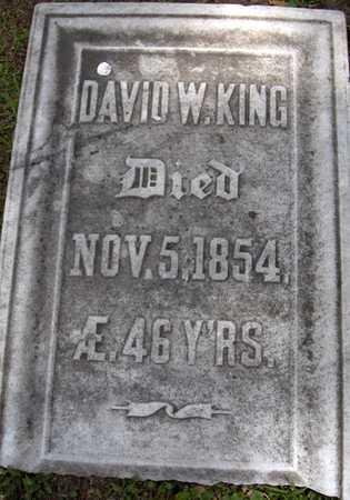 KING, DAVID W. - Linn County, Iowa | DAVID W. KING