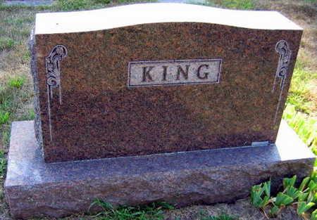 KING, FAMILY STONE - Linn County, Iowa | FAMILY STONE KING