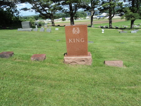 KING, FAMILY STONE - Linn County, Iowa | FAMILY STONE KING