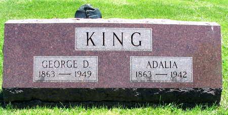 KING, GEORGE D. - Linn County, Iowa   GEORGE D. KING