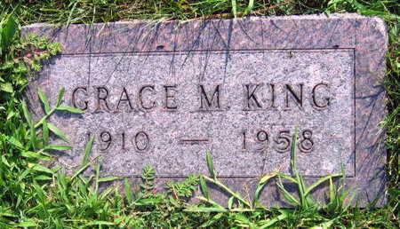 KING, GRACE M. - Linn County, Iowa | GRACE M. KING