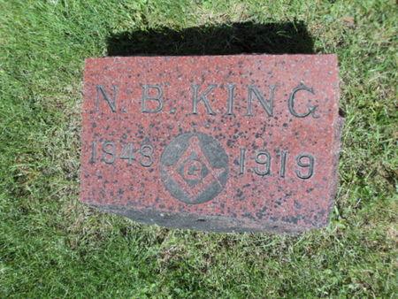 KING, N. B. - Linn County, Iowa | N. B. KING