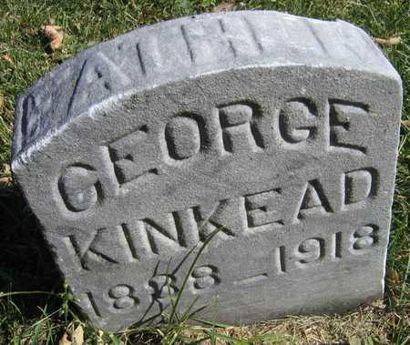 KINKEAD, GEORGE - Linn County, Iowa | GEORGE KINKEAD