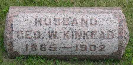 KINKEAD, GEO. W. - Linn County, Iowa | GEO. W. KINKEAD