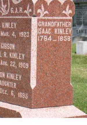 KINLEY, ISAAC - Linn County, Iowa | ISAAC KINLEY