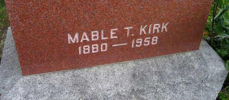 KIRK, MABLE T. - Linn County, Iowa | MABLE T. KIRK