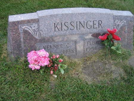 KISSINGER, VERNER C. - Linn County, Iowa | VERNER C. KISSINGER
