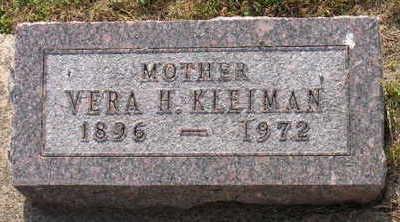 KLEIMAN, VERA H. - Linn County, Iowa | VERA H. KLEIMAN