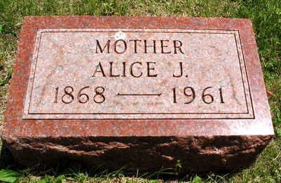 KLEINECK, ALICE J. - Linn County, Iowa | ALICE J. KLEINECK
