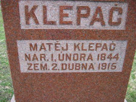 KLEPAC, MATEJ - Linn County, Iowa | MATEJ KLEPAC