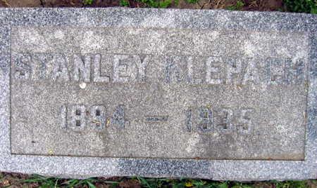 KLEPACH, STANLEY - Linn County, Iowa   STANLEY KLEPACH
