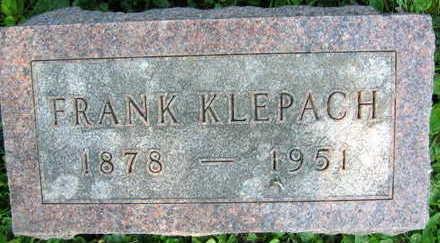KLEPACH, FRANK - Linn County, Iowa | FRANK KLEPACH